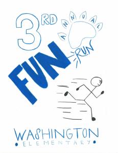 Washington Fun Run Graphic 2014